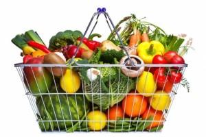 продукты питания в супермаркетах